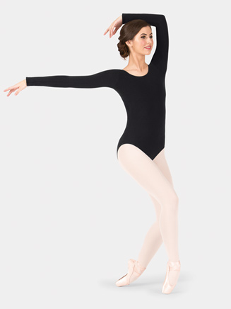 Adult Cotton Blend Long Sleeve Leotard - Style No TH5507