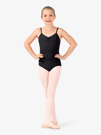 Girls V-Front Camisole Leotard - Style No TH5532C
