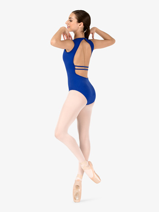 Womens Open Back Tank Leotard - Style No TH5558