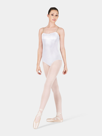 Satin Basic Adult Camisole Leotard - Style No TH7500