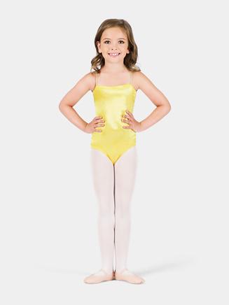 Satin Basic Child Camisole Leotard - Style No TH7500C