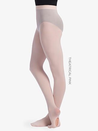 Womens Seamless Convertible Dance Tights - Style No TS82