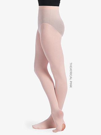 Womens Back Seam Convertible Dance Tights - Style No TS96