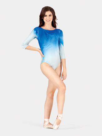 Adult 3/4 Sleeve Boatneck Leotard - Style No WC218