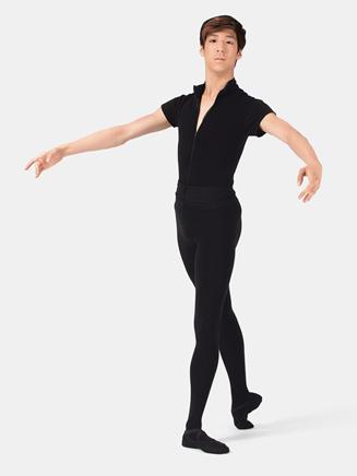 """Mens """"Condor"""" Zip Front Leotard with Built-In Dance Belt - Style No WM122"""