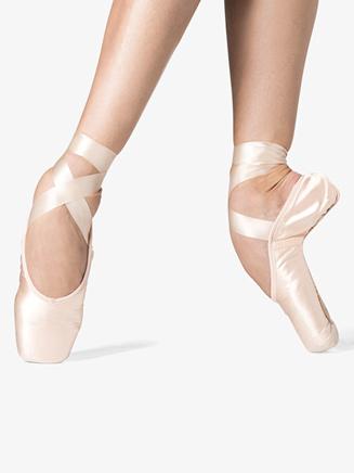 "Adult ""LaPointe"" Square Box Pointe Shoes - Style No WM129Sx"