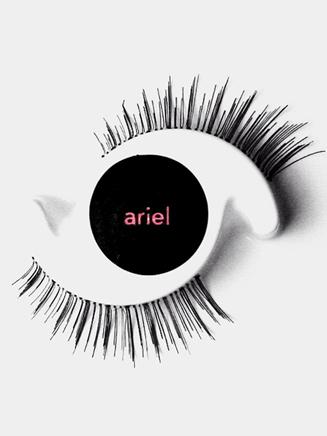 """Ariel"" Mini False Eyelashes for Girls - Style No YO216"
