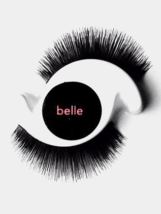 """""""Belle"""" Mini False Eyelashes for Girls - Style No YO217"""