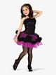 Girls Performance Two-Tone Faux Fur Tutu Dress - Style No GRA156C